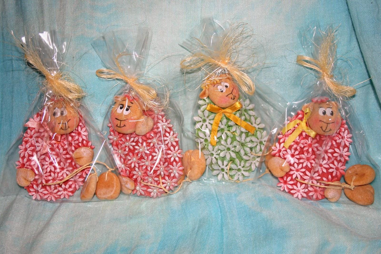 Anielskie Skrzydełko Ozdoby Wielkanocne Z Masy Solnej Czyli Kwiaty