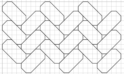 braided free blackwork pattern