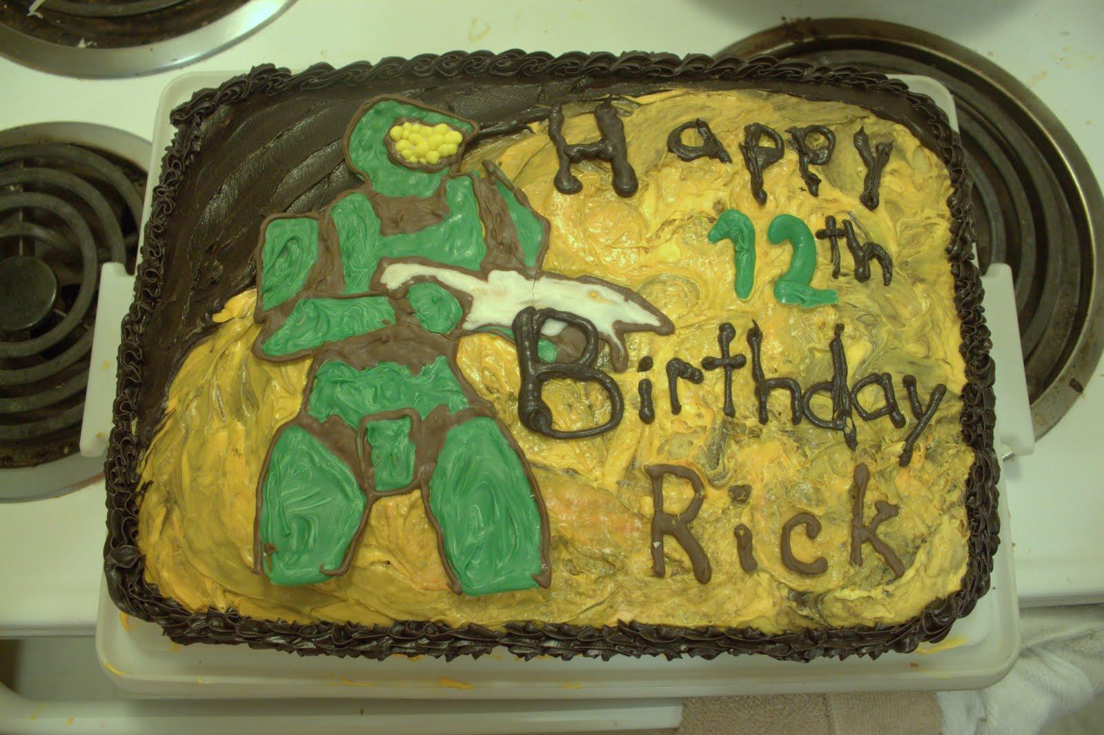 KupACakes blog Halo Theme Birthday Cake