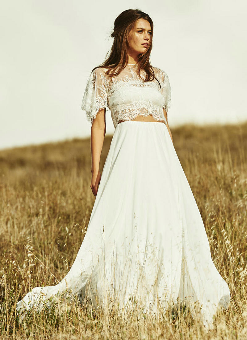Live love breathe weddings 2 piece wedding dresses 2016 for 2 piece wedding dresses