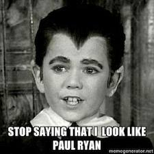 Stop saying that I look like Paul Ryan