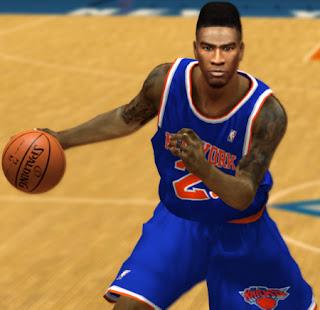 NBA 2K13 Iman Shumpert Cyberface Patch