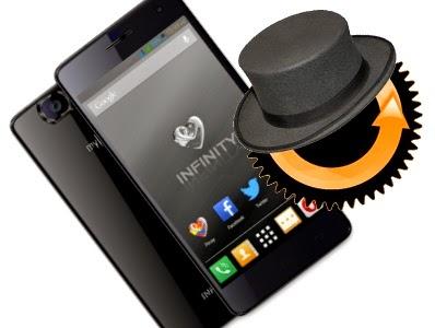 myphone infinity cwm