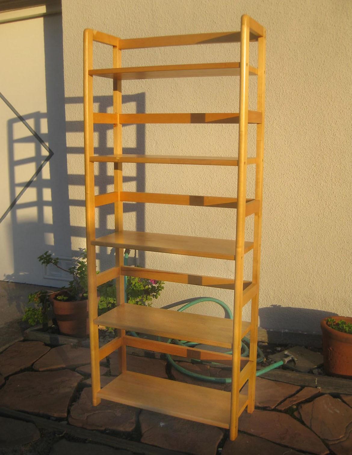 Backless bookshelf 28 images genuine solid oak 8ft for Ikea backless bookcase