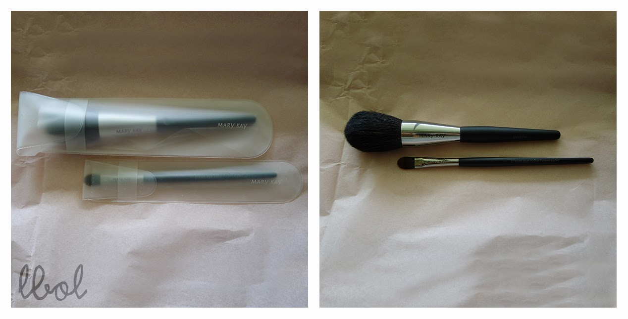 Mary Kay Cream Eye Color/Concealer Brush and Powder Brush