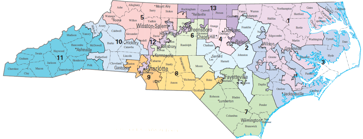 A Federal Judge On Friday Ruled That North Carolinas St And Th - Missouri us congressional district map