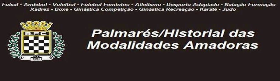 3. Palmarés das Amadoras do Boavista FC