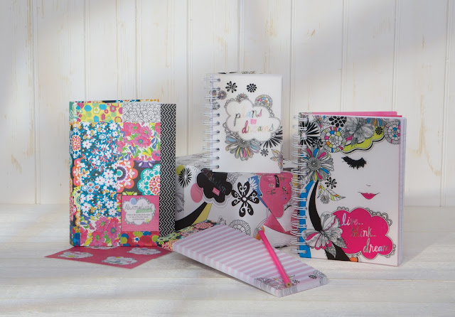 Hallmark stationery, retro stationery, fashion stationery