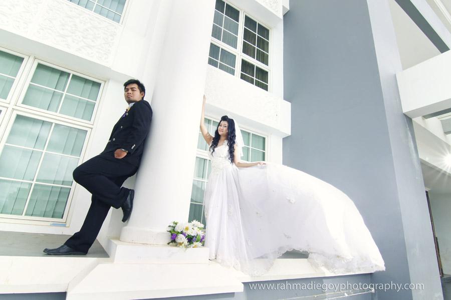 foto prewedding konsep gaun eropa 6