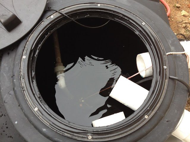 how to fix smelly water in my cistern