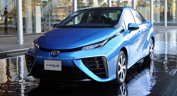 Toyota to More Than Quadruple Production of New Mirai Fuel Cell Car