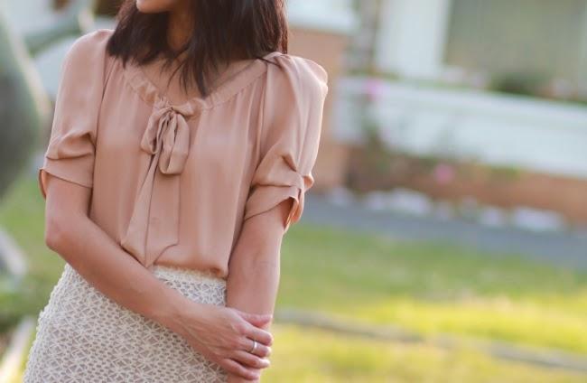 joie eleanor silk blouse top bow bows shirt