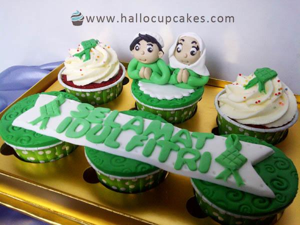 idul fitri cupcake