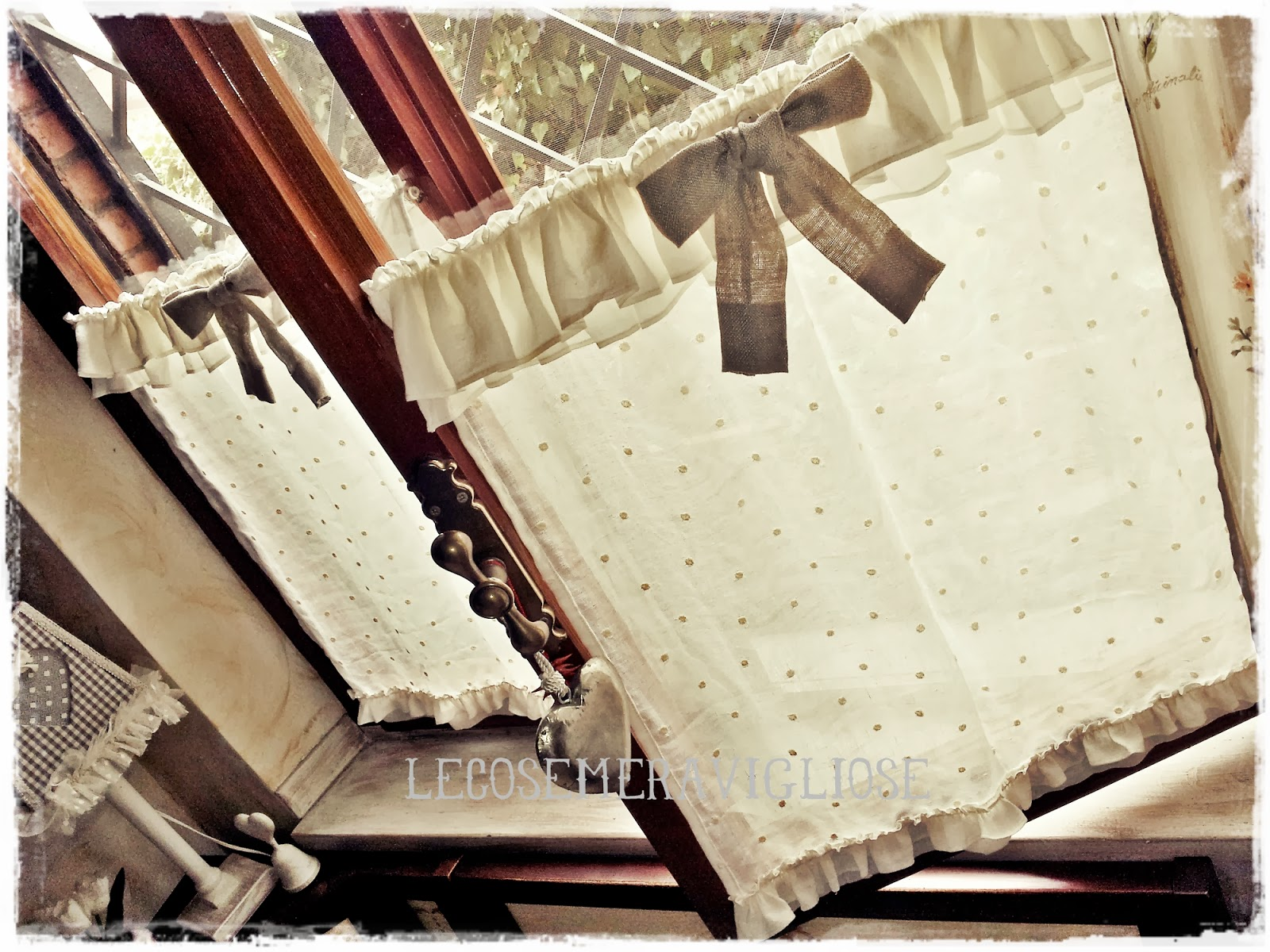tende stile country chic : ... country chic passions: TENDE,CUSCINI, E COMPLEMENTI CREATIVI COUNTRY E