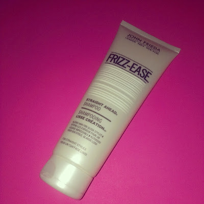 John Frieda Stright Ahead Frizz-Ease shampoo