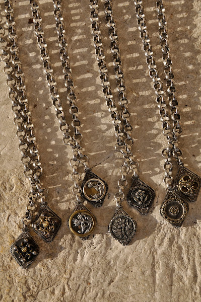 Silver Lariat necklaces  $98