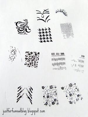 סקירה לדיסקיות מביוטיקר; Stamping Plates from BeautyCare