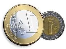 Equivalencia entre el euro y el peso mexicano