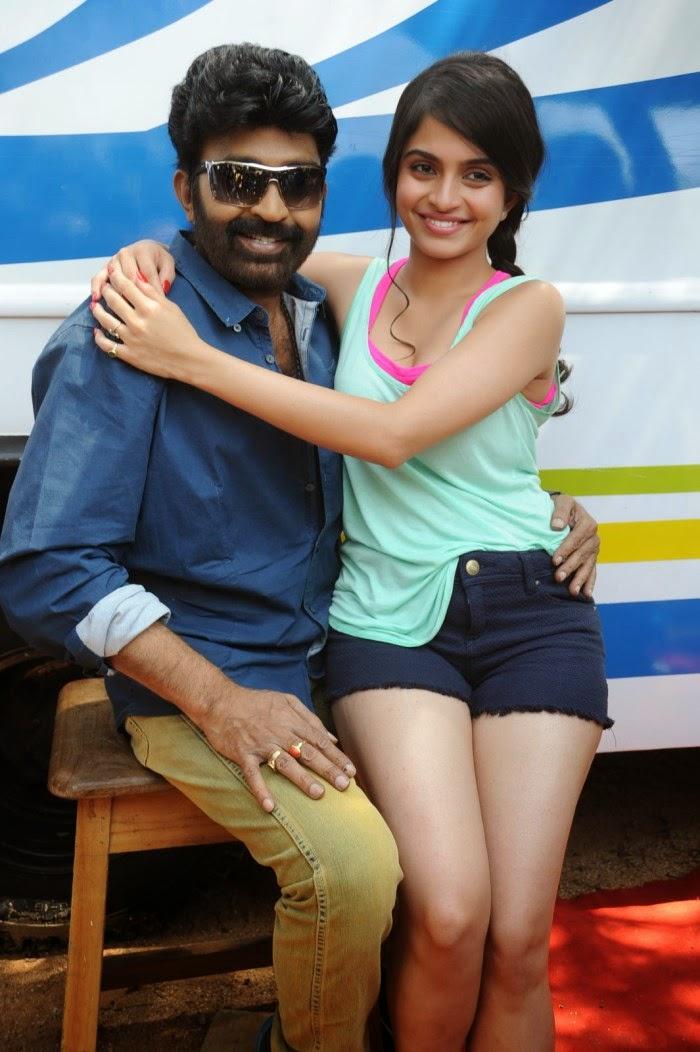 Hot Romantic Photos Actress Sheena Shahabadi And Actor Rajasekhar