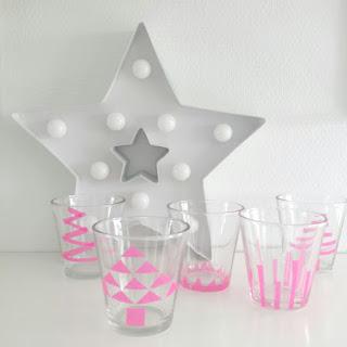 ondeugendespruit DIY washitape glaasjes