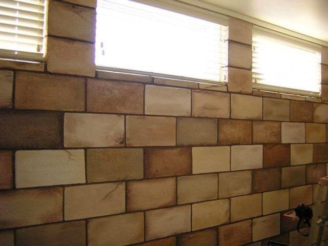 Interior paint colors for basements for Block basement walls