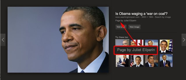 President Obama Images Google Authorship Page By