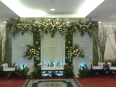 bunga dekorasi , dekorasi pernikahan