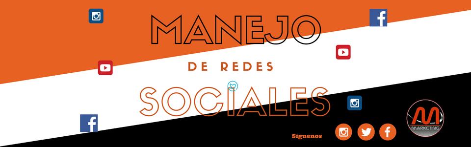 Maneja Tus Redes Sociales con MMARKETING