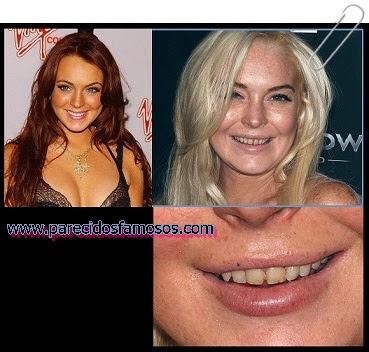 Lindsay Lohan antes y después