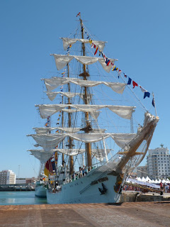 Tall ship race Cadiz 2012