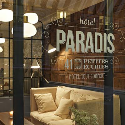 @Hotel Paradis Parigi