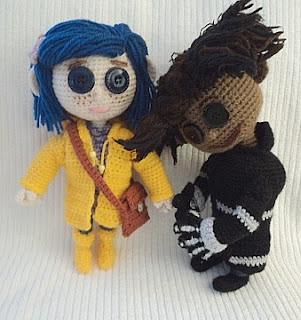 Amigurumi To Go Doll : My Homemade Coraline Dolls ~ Amigurumi To Go