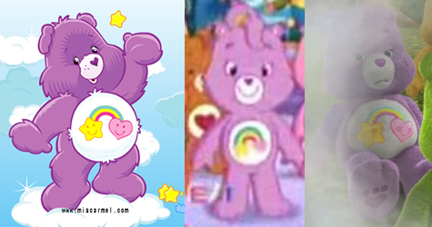 Spanengrish Ramblings: Care Bears through 30 years