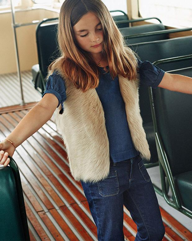 Massimo Dutti moda niña otoño invierno vuelta al cole