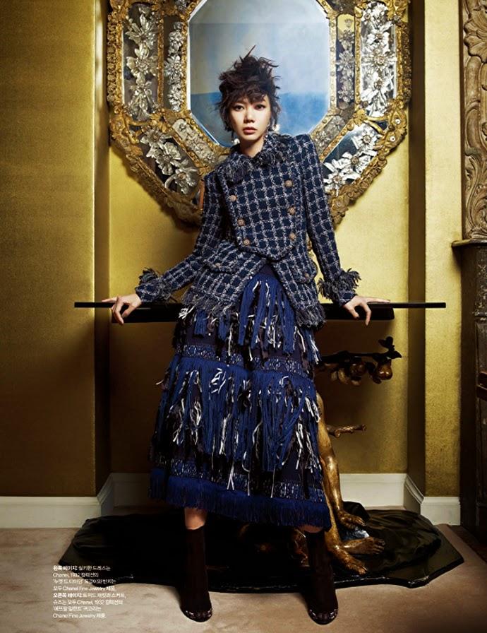 Bae Doo Na - Harper's Bazaar Magazine May Issue 2014