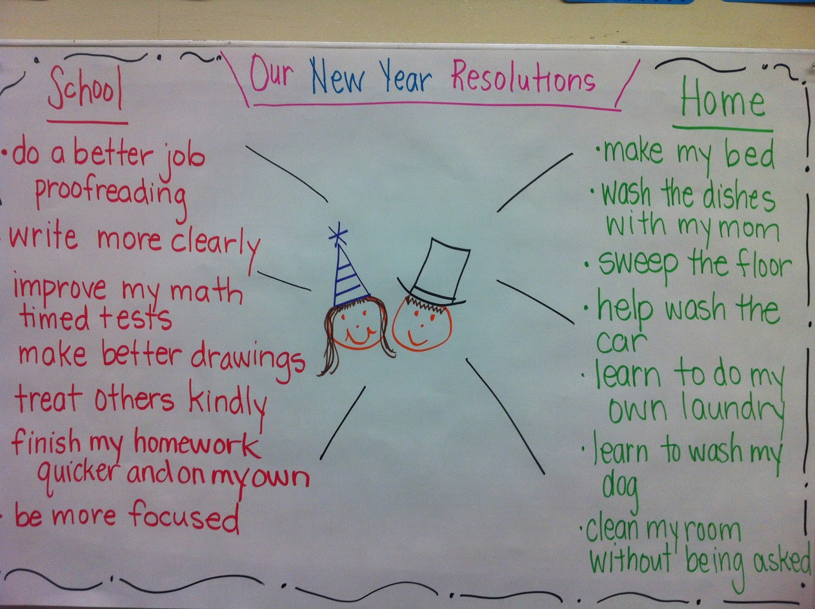 New Year Resolutions, Pen Pals and MORE!