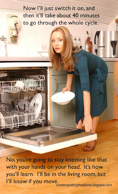 Domestic chores and domestic discipline