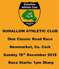 Fast 5k in Newmarket... Sun 16th Dec 2018