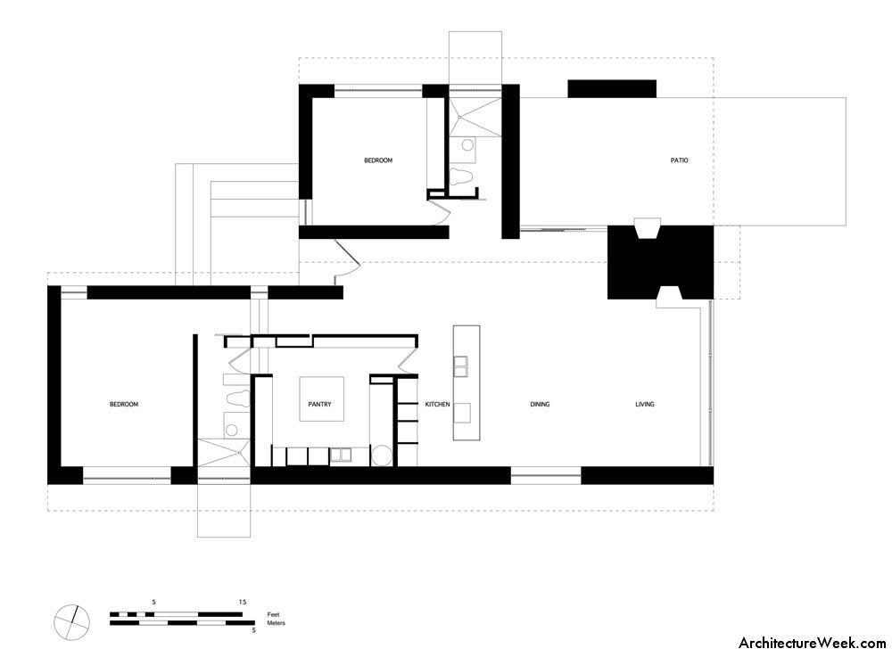 Tia introducci n a la arquitectura 2017 trabajo sobre for Comedor en planta