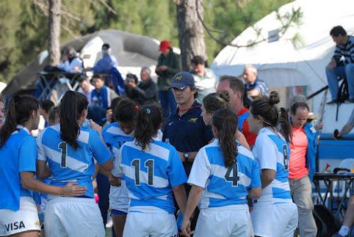 Nahuel García, entrenador del seleccionado femenino de rugby