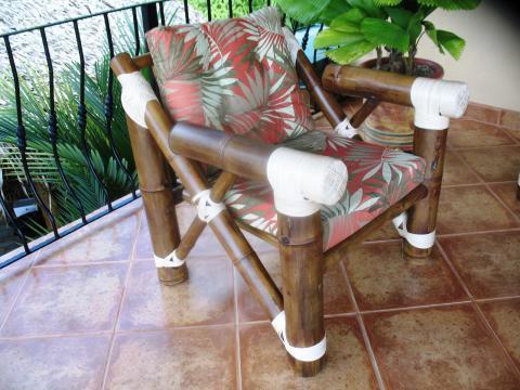 Sam de sinthya muebles en bamb - Sillones de bambu ...