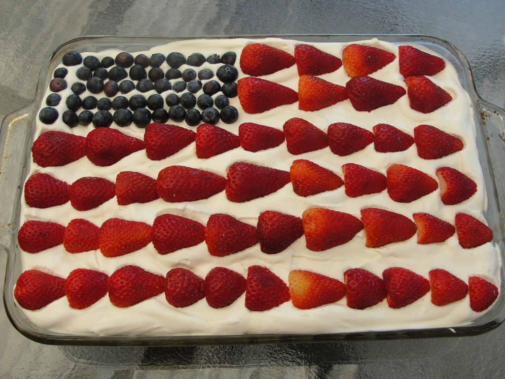 Happy 4th of July sexy cake