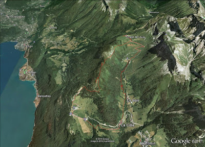 Circuit de la pointe de la Rochette - Montmiin