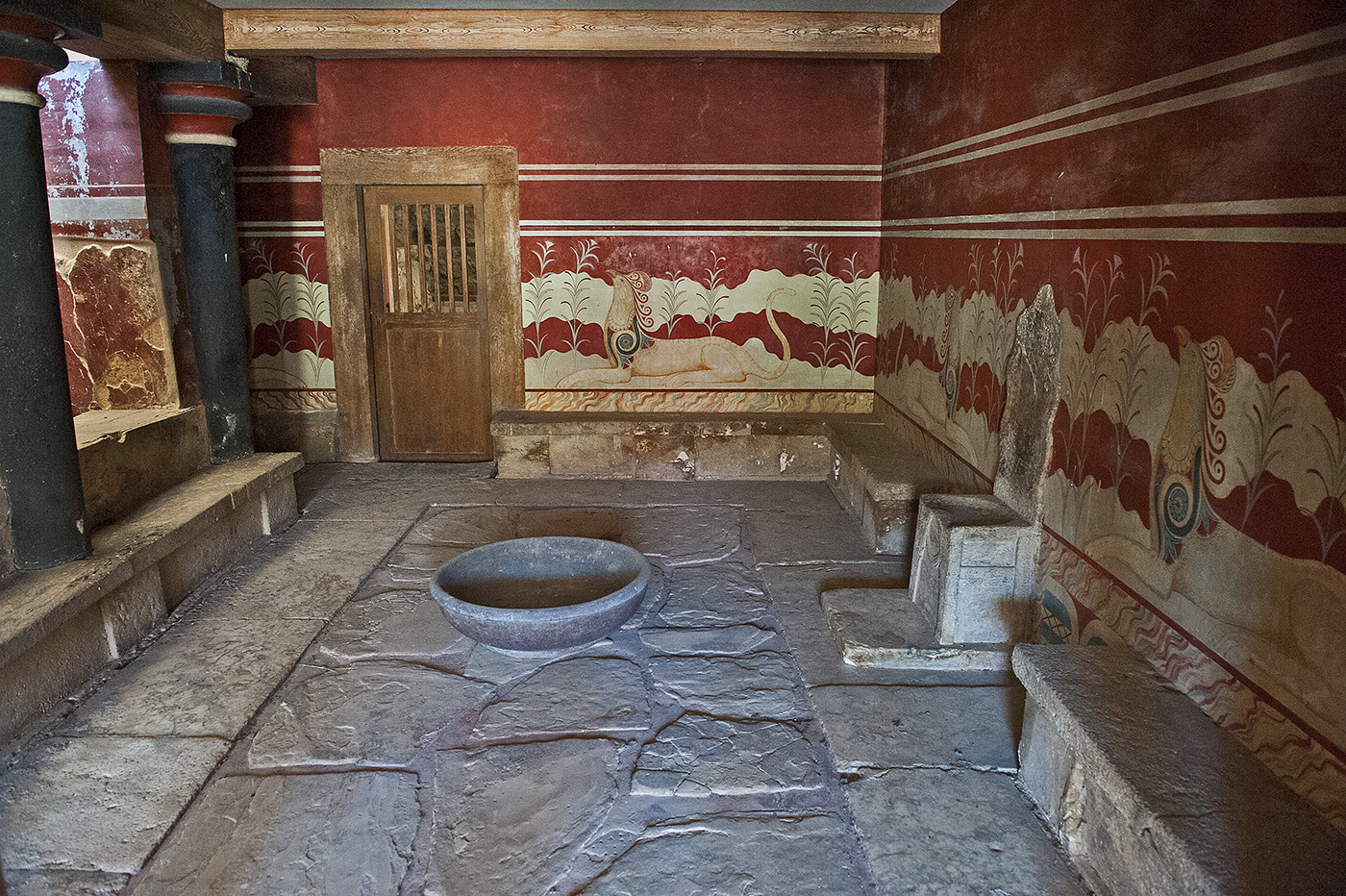 Knossos, Heraklion, Crete, Greece