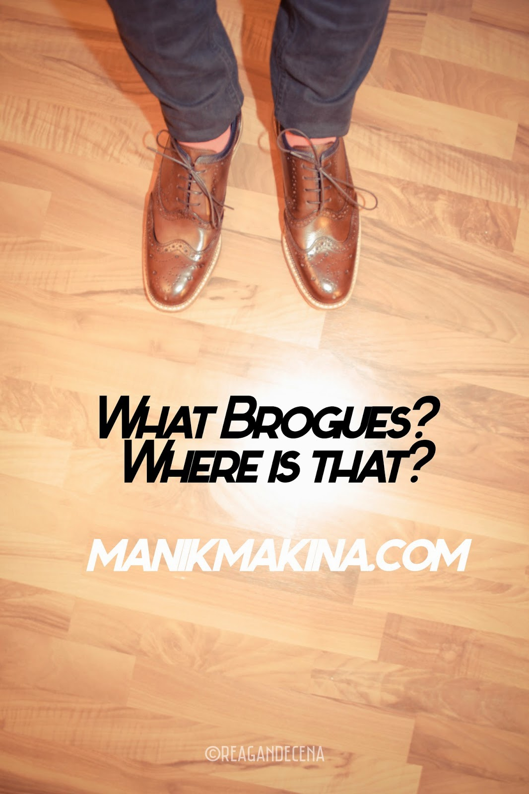 Guys, Brogues Are Harmless. [So is Fashion.]