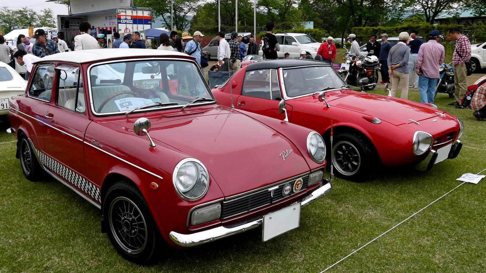 Toyota Publica & Sports 800, mało znane klasyki, stara motoryzacja, dawne sportowe samochody