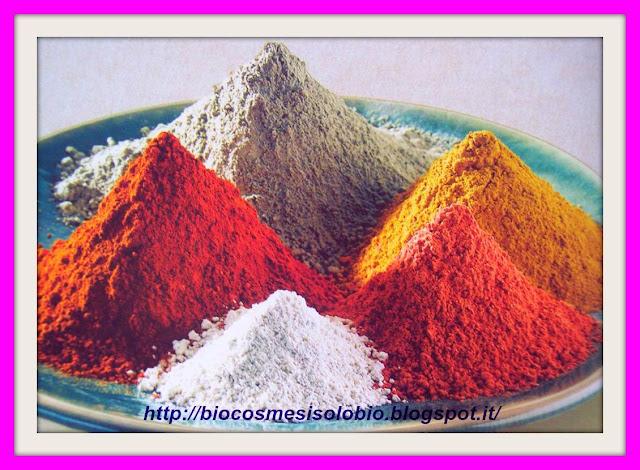 argilla, tipi di argilla, proprietà cosmetiche, argilla bianca, argilla verde