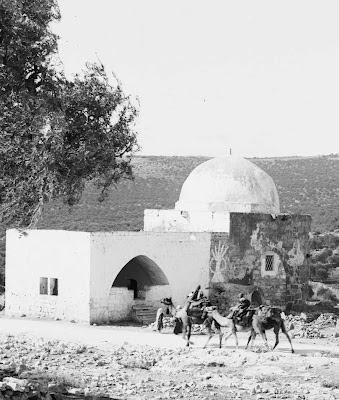 Tumulo de Raquel antes da restauração