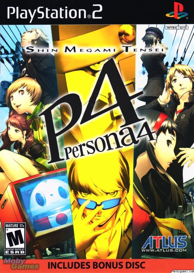 Download Game PC Persona 4 PS2 ISO Gratis