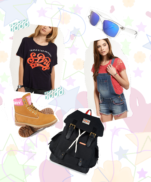 superdry festival fashion inspiration